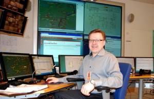 Turku Energia Sähköverkot Oy:n käyttöpäällikkö Harri Salminen.