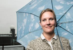 Ilmatieteen laitoksen ilmastokeskuksen päällikkö Hilppa Gregow.