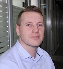 Erillisverkkojen kiinteistöpäällikkö Pentti Uusitalo.