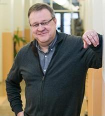 Verkkopäällikkö Jukka Ojala Koillis-Lapin Sähköstä.