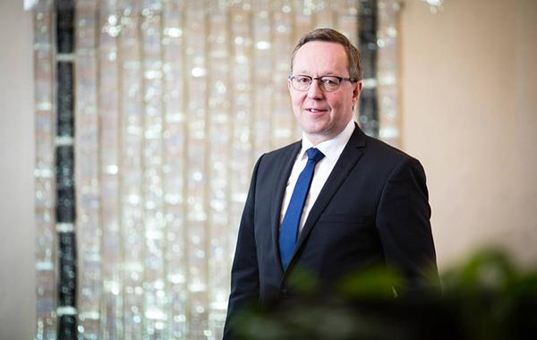 Elinkeinoministeri Mika Lintilä vuonna 2018.