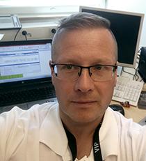 KYS viestintäpäällikkö Sami Haapamäki.