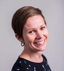 Tampereen yliopiston robotiikan tutkija Lina Van Aerschot.
