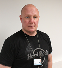 Hyvinkään sairaala Virve-päällikkö Tomi Pekkonen.