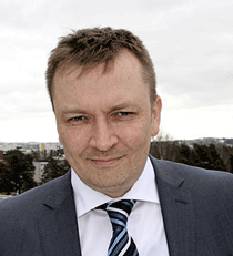 Osastopäällikkö Antti Kauppinen Erillisverkot.