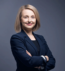 Finrail operatiivinen johtaja Sanna Järvenpää.