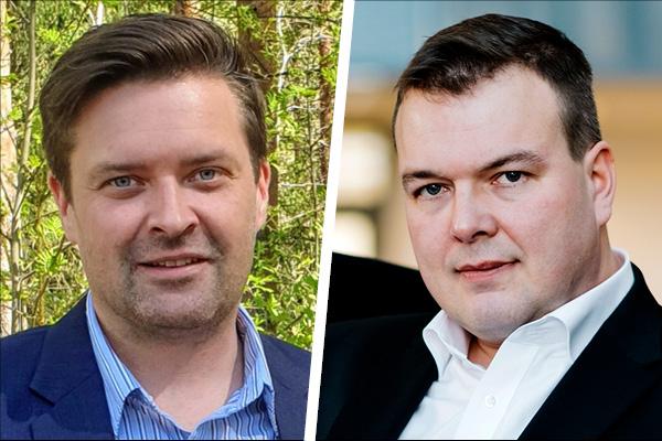 Tommi Pulkkinen ja Antti Siipola.