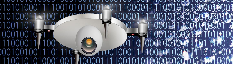 Erillisverkot, drone ja data