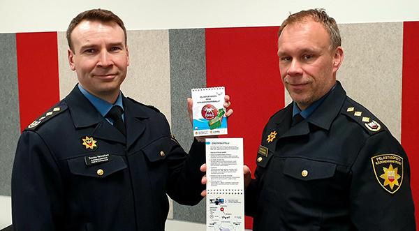 Teemu Veneskari ja Marko Hassinen.