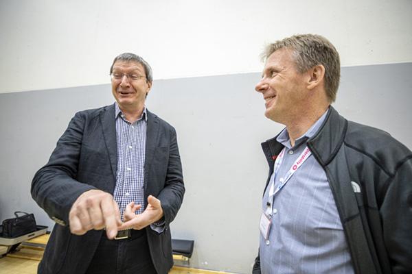 Harald Ludwig ja Kees Verveij.