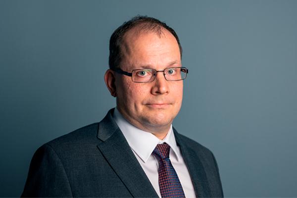 Huoltovarmuuskeskuksen toimitusjohtaja Tomi Lounema.
