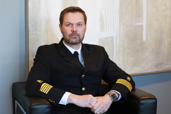 Hätäkeskuspalveluiden johtaja Marko Nieminen.