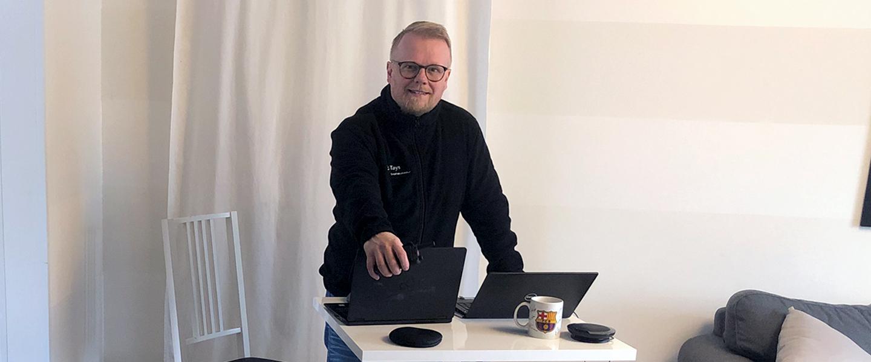 Taysin erityisvastuualueen Virve-aluepääkäyttäjä Kai Savonniemi.