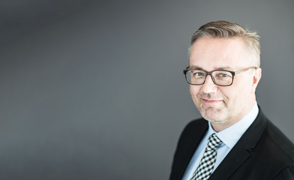 Liiketoimintajohtaja Jarmo Vinkvist.
