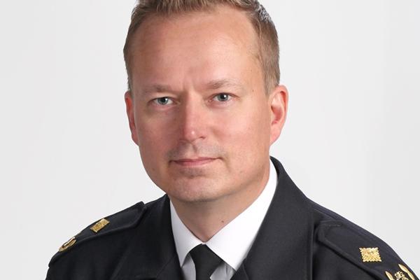 Pelastusylitarkastaja Mika Kurvinen.
