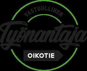 Vastuullinen työnantaja kampanjan logo.