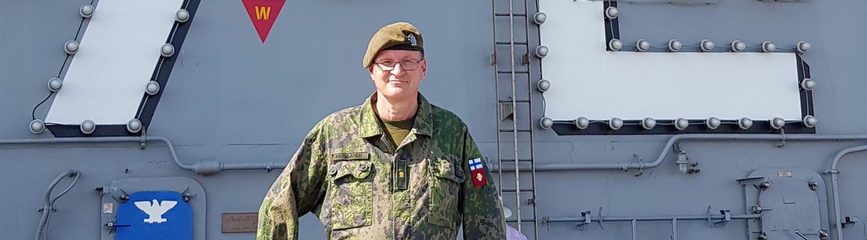Prikaatikenraali Mikko Heiskanen.
