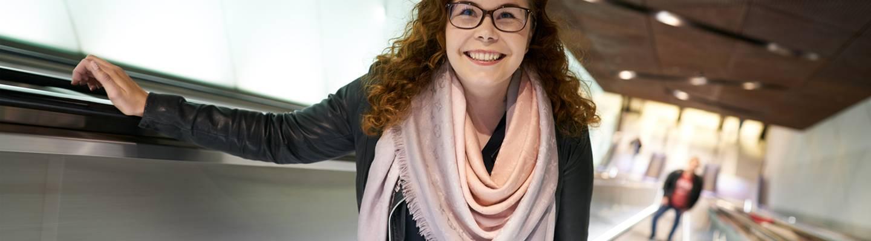 Erillisverkkojen palvelumuotoilija Reetta Siltasalmi-Kautto.
