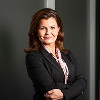 Kuvassa Mari Fallström