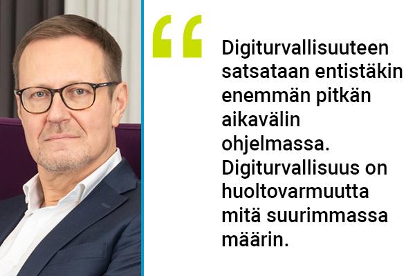 Huoltovarmuuskeskuksen toimitusjohtaja Janne Känkänen.