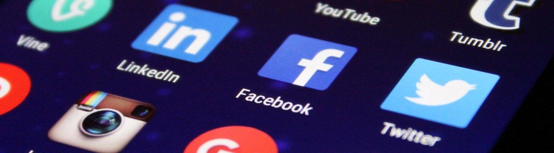 sosiaalisen median verkkoalustojen kuvakkeet