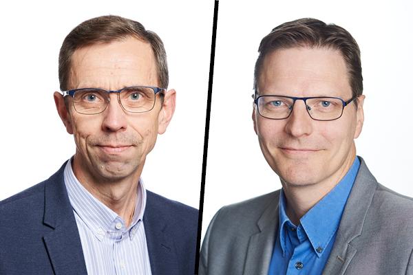STUKin Jyrki Heinonen ja Jukka Kupila.